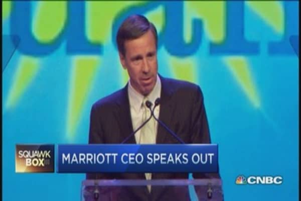 Marriott CEO speaks out against RFRA