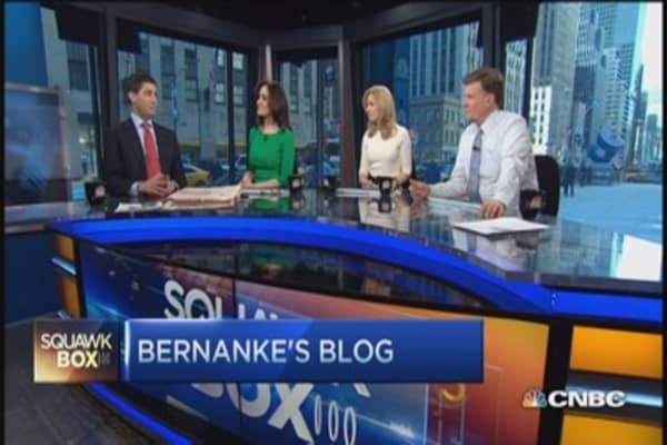 Bernanke's blog part of his mission?