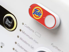 A Tide Amazon dash button