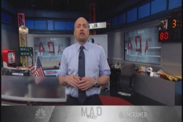 Market leaves sour taste in Cramer's mouth