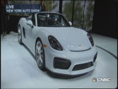 Porsche introduces fastest Boxster ever