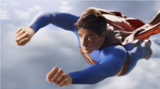 "Image from the 2006 movie ""Superman Returns."""