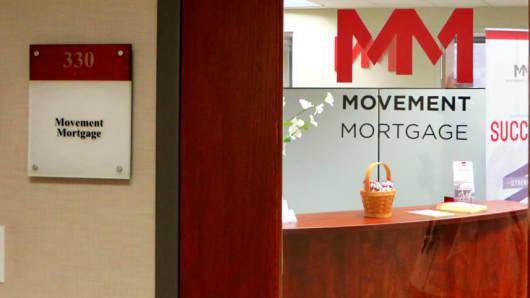 Movement Mortgage signage