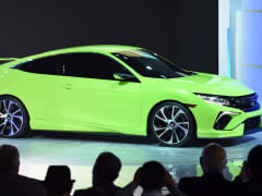 Honda Civic Concept car introduced at New York Auto Show