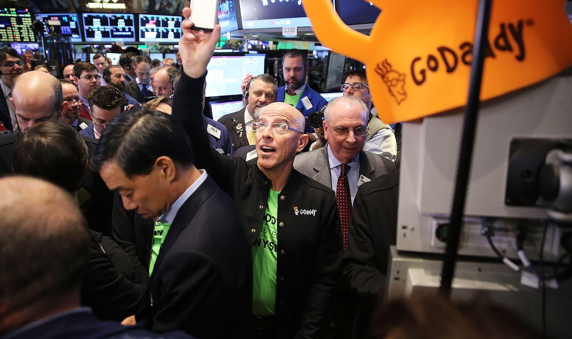 godaddy surges after second quarter revenue beat