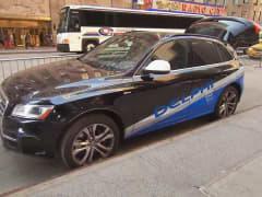 Delphi self-driving car