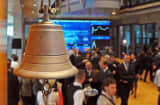 Stock exchange bell Poland