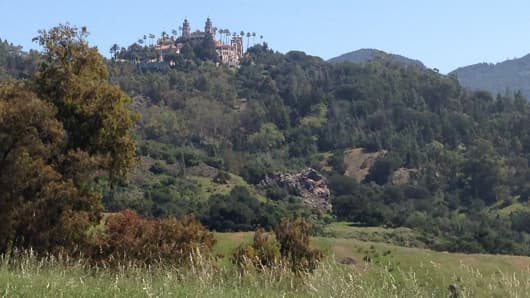 Hearst Ranch and Hearst Castle in San Simeon, Calif.