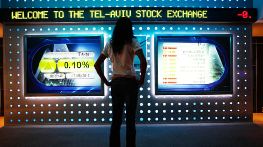Inside the Tel Aviv Stock Exchange