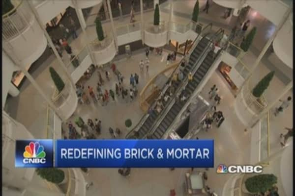 Why is e-commerce eyeing brick and mortar?