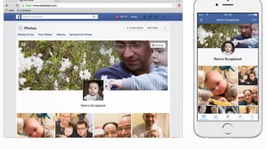 Facebook launches Facebook Scrapbook.