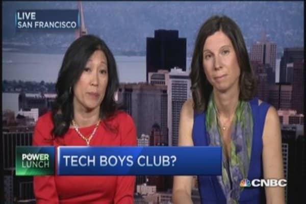 Tech boys club?