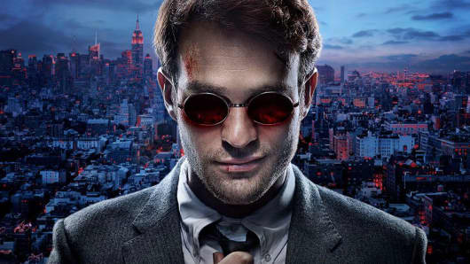 Netflix and Marvel Studios' Daredevil character.