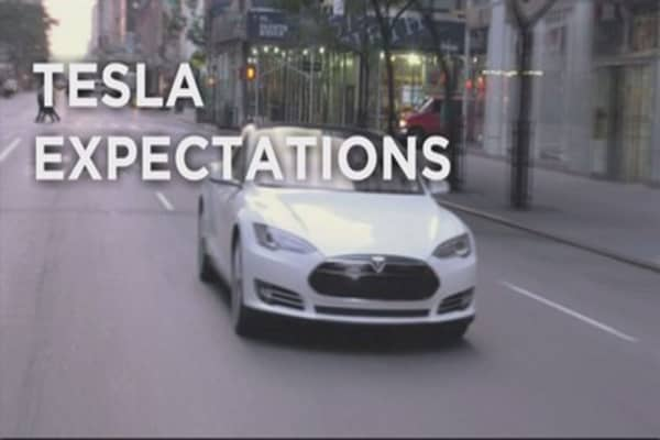 Tesla sales revving up
