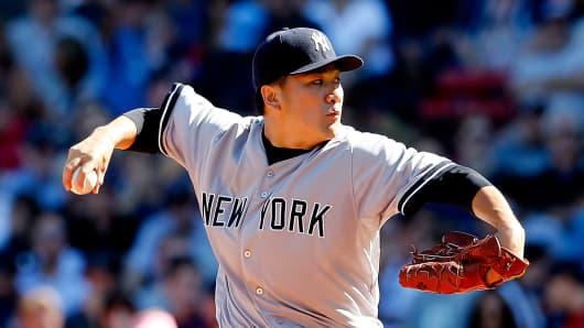 Masahiro Tanaka of the New York Yankees