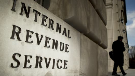 The Internal Revenue Service headquarters in Washington.