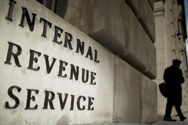The Internal Revenue Service headquarters in Washington.
