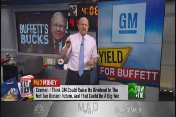 Cramer: 5 Buffett approved dividend stocks