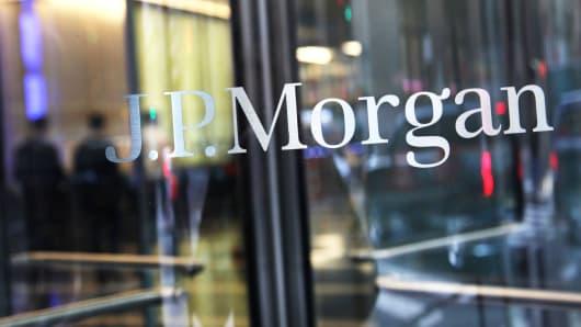 JPMorgan building in New York.