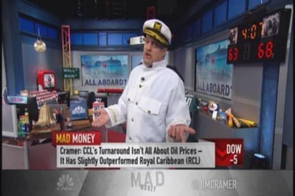 Cramer: Carnival's magnificent turnaround