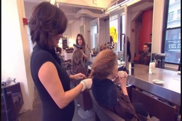 Open Table of salons and spas