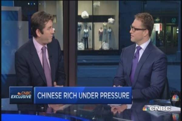 Chinese rich under pressure