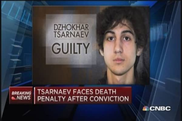 Tsarnaev guilty on first 4 charges