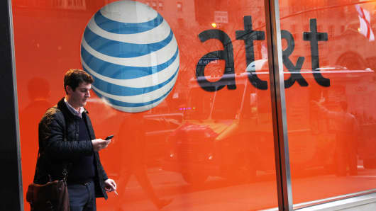 An AT&T store in New York.