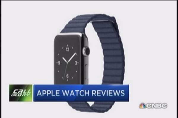 Apple watch clocking mixed reviews