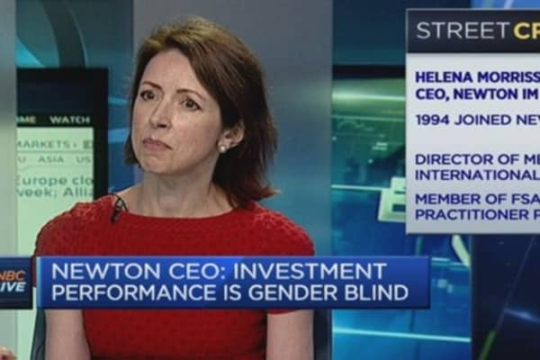 Newton's CEO on keeping women in the boardroom