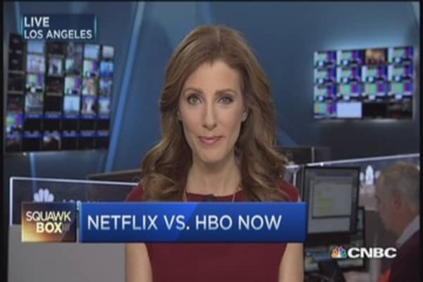 Netflix wages superheroes battle against HBO