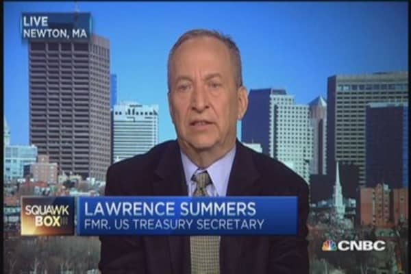 Preemptive war on inflation big mistake: Larry Summers