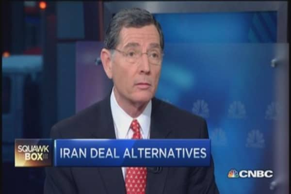 Sen. Barrasso: We want 60 days to review final Iran deal
