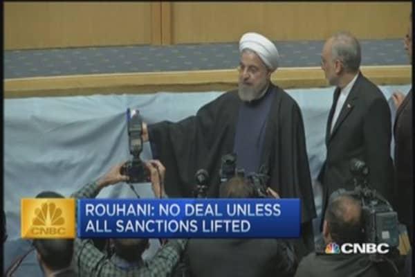 CNBC update: Iran will not sign deal unless...