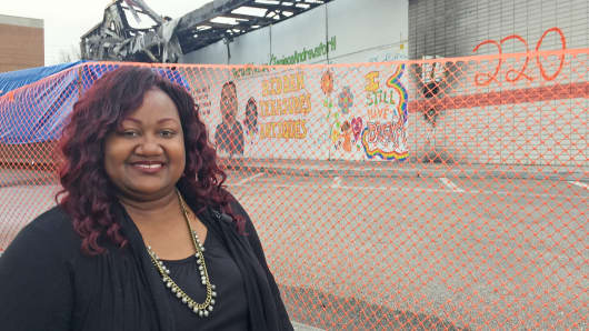 Jeniece Andrews, owner of Hidden Treasures.