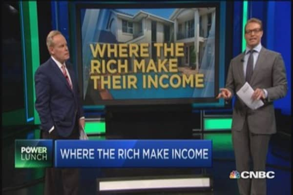 The secret to getting rich