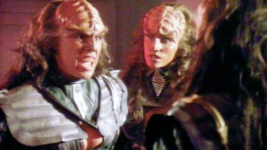 Klingons from 'Star Trek: The Next Generation'