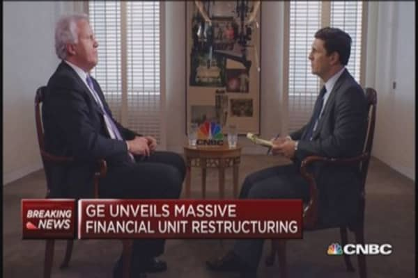 GE asset sale rewards investors: Immelt