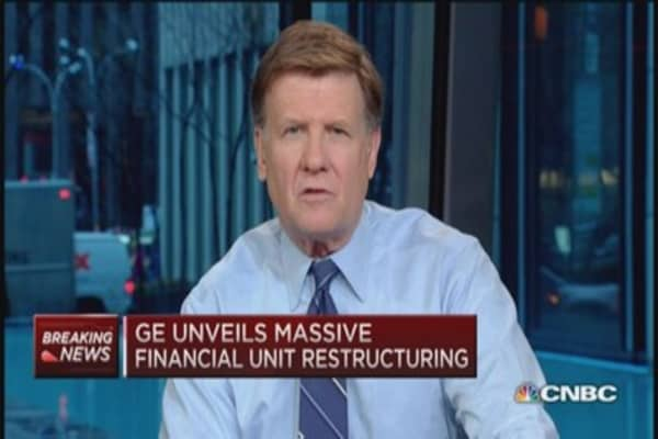 GE's restructuring 'smart move': Jack Welch