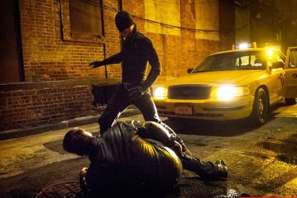 "A scene from ""Daredevil"" on Netflix."