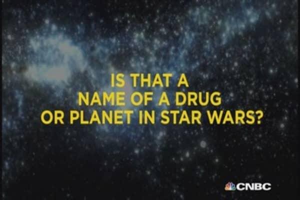 Drug name...or Star Wars planet?