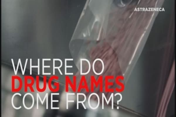 Here's why drug names sound so weird