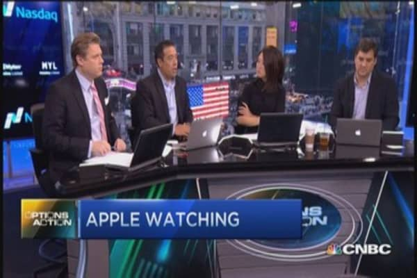 Apple watching