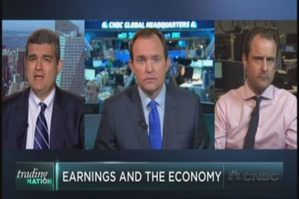 Earnings & the economy