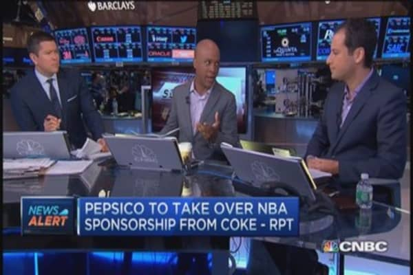 Pepsi taking over NBA rights from Coke: Report