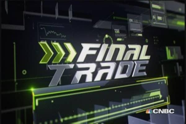 Fast Money Final Trade: LOW, DXGE, YHOO & HD