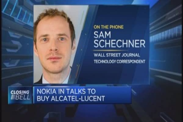 How would a Nokia-Alcatel deal work?