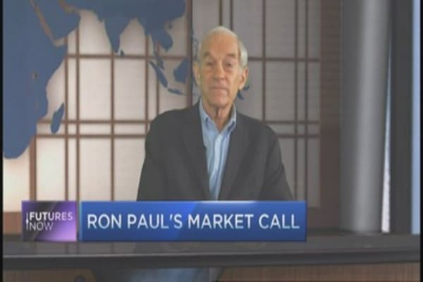 This is the next financial crisis: Ron Paul