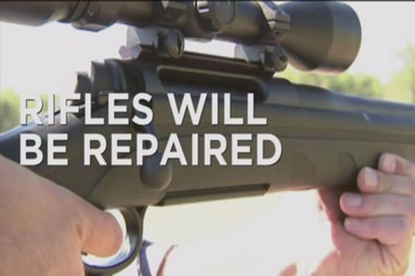 Remington rifles get a repair