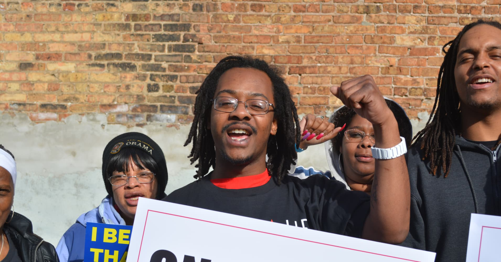 Fight for $15: McDonald's workers protest to raise minimum wage